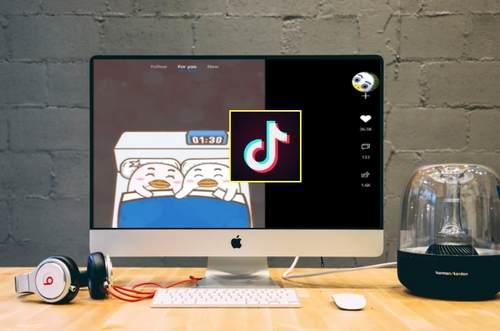 TikTok sur Mac